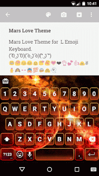Mars Love Emoji Keyboard Theme APK : Download v1 0 5 for Android at