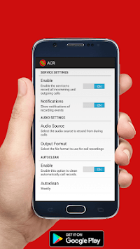 Auto Call Recorder - ACR LITE APK : Download v1 0 for Android at
