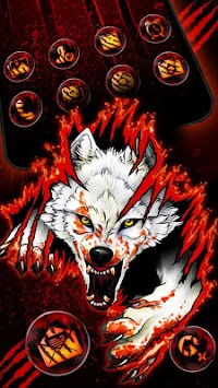 Blood Wolf Themes Live Wallpapers APK screenshot 2