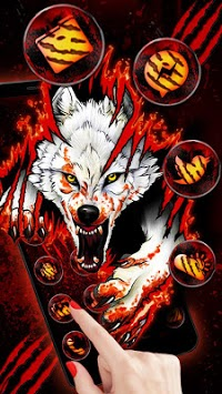 Blood Wolf Themes Live Wallpapers APK screenshot 3