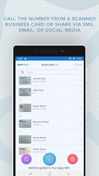 Business Card Scanner with OCR APK screenshot 1