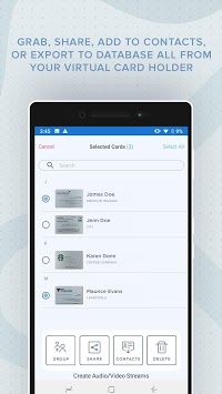 Business Card Scanner with OCR APK screenshot 2