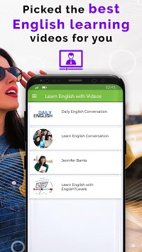 Learn English Easy Online by Best English Videos APK screenshot 2