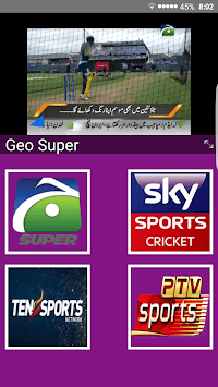 Live Cricket TV HD, PTV Sports, live express news APK screenshot 1