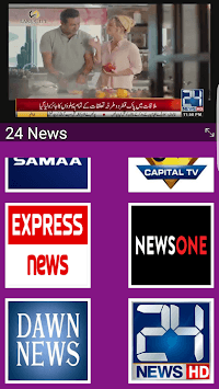 Live Cricket TV HD, PTV Sports, live express news APK screenshot 2