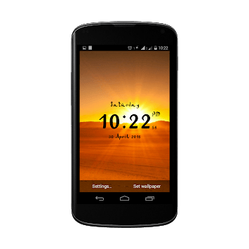 Arabic digital clock APK : Download v1 3 for Android at