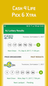 nj lottery app for android
