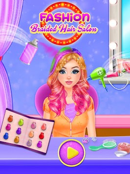 Fashion Braided Hair Salon - Hairdo Parlour APK screenshot 1