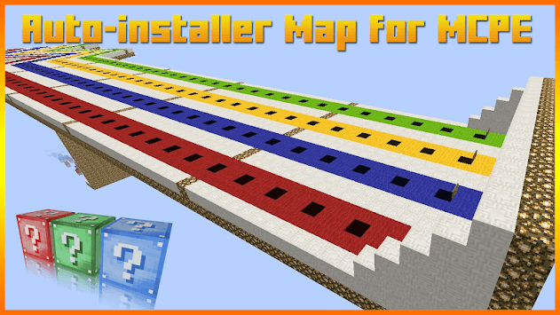Lucky Block Race Map for MCPE APK : Download v1 0 for