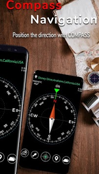 Smart Compass for Android APK screenshot 1