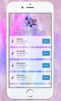 Marshmello Tap Piano Game APK screenshot 1