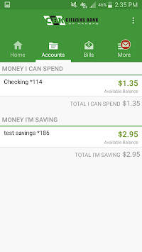 Citizens Bank of Kansas APK screenshot 3