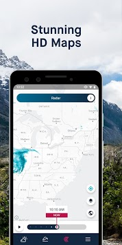 WeatherPro: Forecast, Radar & Widget APK screenshot 3