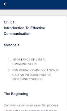 Effective Communication APK screenshot 2