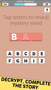 Bank Robbery Word Mystery: Escape Games Story APK screenshot 2