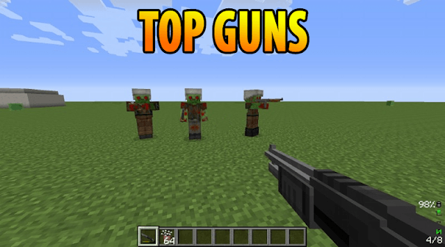 Weapons Mods for Minecraft PE 1.17 and 1.17.0