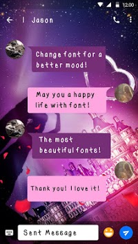 Valentine Day Font for FlipFont , Cool Fonts Text APK
