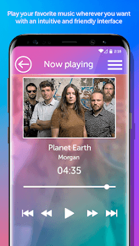 mp3 Music Player APK screenshot 2