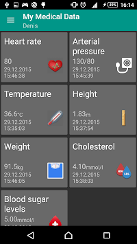 My Medical Data (MMD) APK : Download v1 1 for Android at