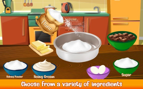 Cake Bakery Shop - Sweet Cooking, Color by Number APK screenshot 2