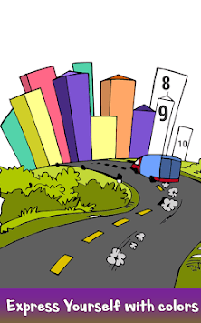 Cities Color by Number: Nation Coloring Book Pages APK screenshot 3