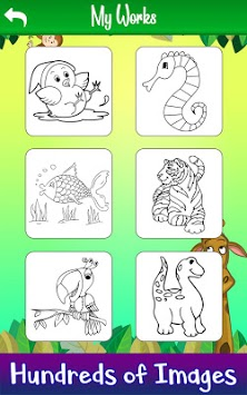 Learn to Draw Animals: Draw, Color & Glitter Book APK