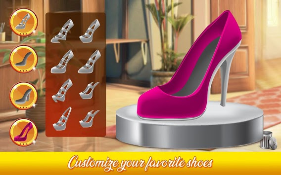 Shoe Designer: Fashion Shoe Maker, Color by Number APK screenshot 2