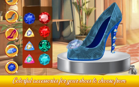 Shoe Designer: Fashion Shoe Maker, Color by Number APK screenshot 3