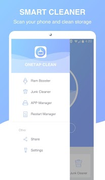 Onetap Clean APK screenshot 3