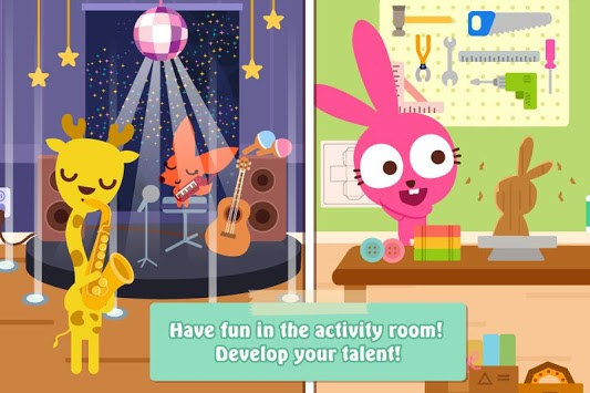 Papo Town: School APK screenshot 3