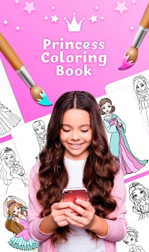 Princess Coloring Book APK screenshot 1