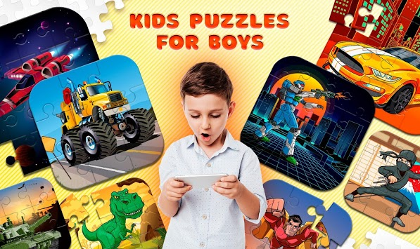 Kids Puzzles for Boys APK screenshot 1