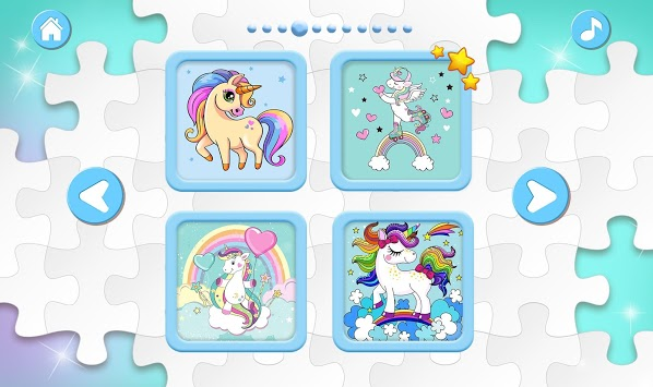 Unicorn Puzzles for Kids APK screenshot 2