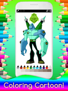 Coloring Ben Ten for Kids APK screenshot 3