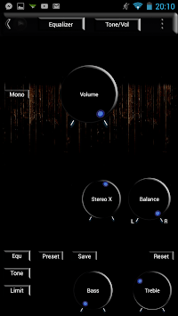 Poweramp Skin Black Glass APK : Download v1 3 for Android at