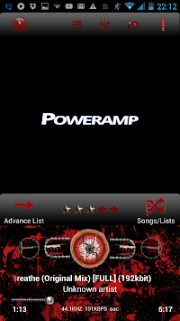 Poweramp Skin True Blood APK : Download v1 7 for Android at