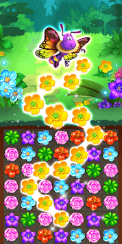 Colorful Flowers Match 3 APK screenshot 2
