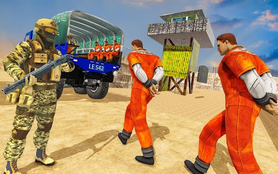Prisoner Transporter Truck Simulator APK screenshot 3