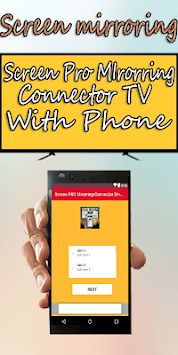 Screen PRO Mirorring-Connector Smart TV With Phone APK screenshot 3