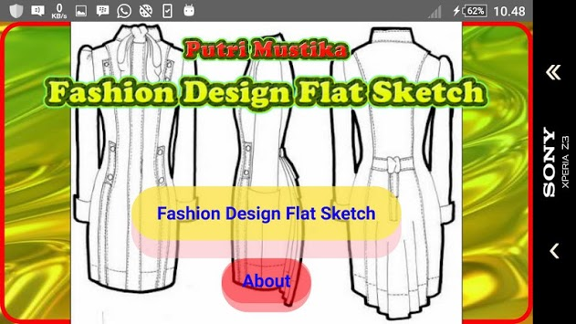 Fashion Design Flat Sketch APK : Download v1 0 for Android