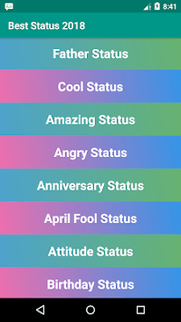 Best Status 2018 APK : Download v8 1 for Android at AndroidCrew