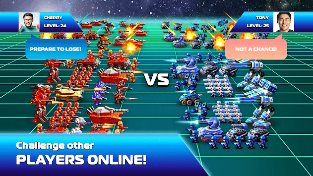 Galaxy Heroes: Space Wars APK screenshot 2