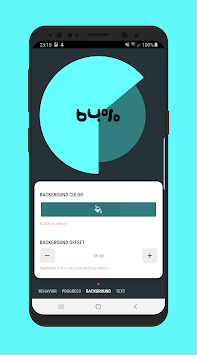 Percentage Chart View - Android library APK screenshot 2