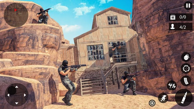 Counter Terrorist Gun Simulator APK screenshot 1