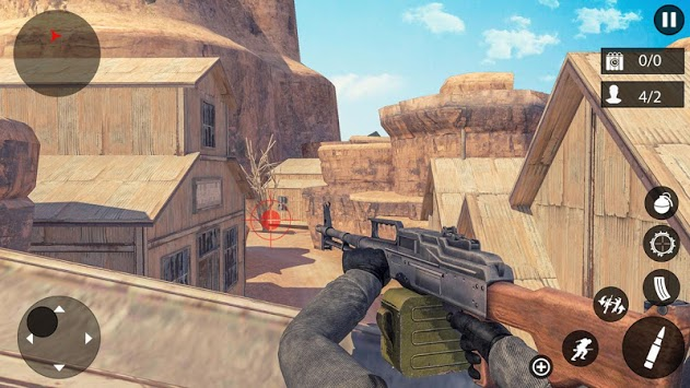 Counter Terrorist Gun Simulator APK screenshot 2