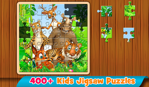 Kids Puzzles 😄 Jigsaw puzzles for kids & toddlers APK : Download v1