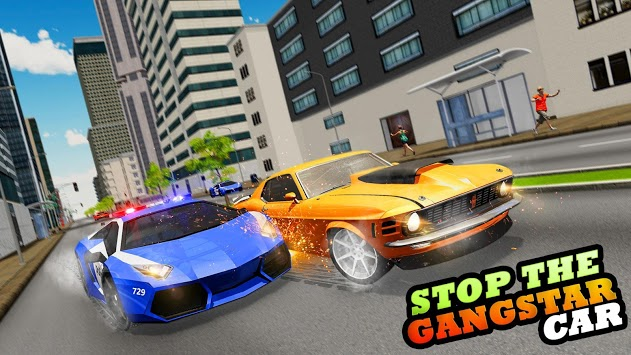 Real Police Robot Car : Flying Car Games APK screenshot 3