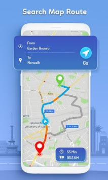 GPS, Maps - Route Finder, Directions APK screenshot 1