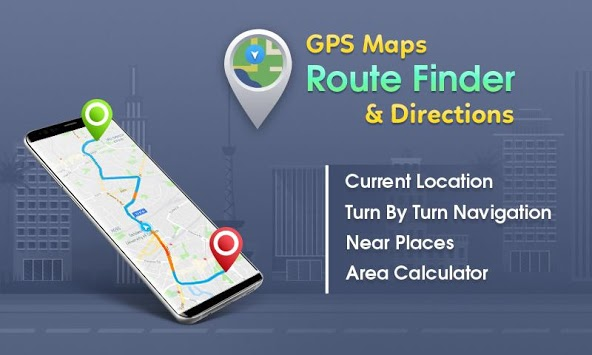 GPS, Maps - Route Finder, Directions APK screenshot 3