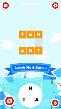 CWP - No Ads! - Addicting Zen Vocabulary Challenge APK screenshot 1